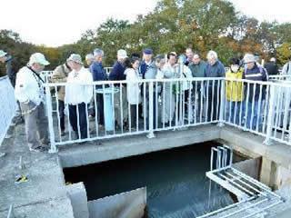 浄水場見学について