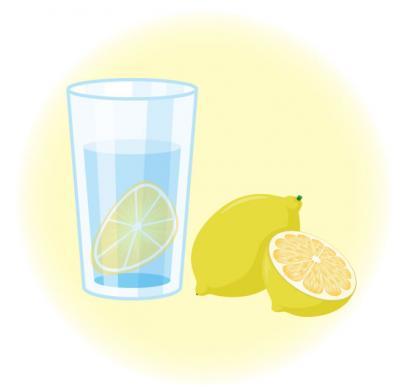 レモンをいれる